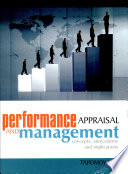 """""""Performance Appraisal And Management"""" by Tapomoy Deb"""