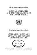 Législation Nationale Et Traités Concernant Le Droit de la Mer