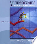 Cover of Microeconomics: Principles and Applications