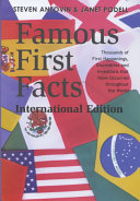 Famous First Facts  International Edition
