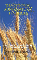 Devotional: Supernatural Finances