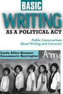 Basic Writing as a Political Act