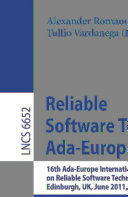 Reliable Software Technologies     Ada Europe 2011