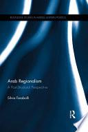 Arab Regionalism Pdf/ePub eBook