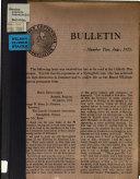 The Abraham Lincoln Association Bulletin