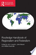 Routledge Handbook Of Regionalism Federalism Book