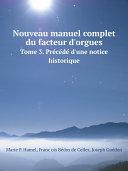 Nouveau manuel complet du facteur d'orgues Pdf/ePub eBook