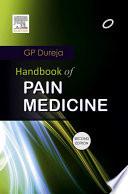 Handbook of Pain Medicine - E-Book