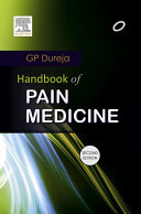 Handbook of Pain Medicine   E Book