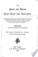 The Forest and Stream Hand-book for Riflemen