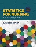 Statistics for Nursing: A Practical Approach