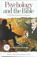 Psychology And The Bible Book