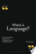 Where is Language