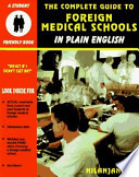 The Complete Guide to Foreign Medical Schools