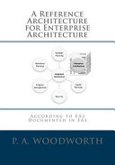 A Reference Architecture for Enterprise Architecture