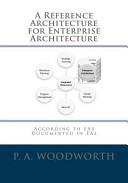 A Reference Architecture for Enterprise Architecture Book