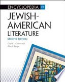 Encyclopedia Of Jewish American Literature Book PDF