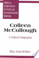Colleen Mccullough Book PDF