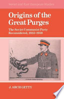 Origins Of The Great Purges