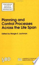 Planning and Control Processes Across the Life Span Book