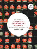 Cover of Essential Quantitative Methods