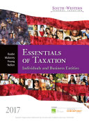 South-Western Federal Taxation 2017: Essentials of Taxation: Individuals and Business Entities