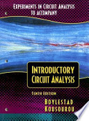 Experiments in Circuit Analysis to Accompany Introductory Circuit Analysis