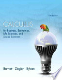 Calculus for Business, Economics, Life Sciences and Social Sciences with MyMathLab Access Card Package