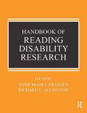 Handbook of Reading Disability Research Pdf/ePub eBook