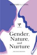 Gender  Nature  and Nurture
