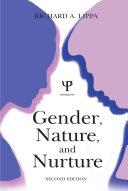 Pdf Gender, Nature, and Nurture Telecharger