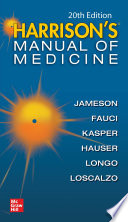 Harrisons Manual of Medicine  20th Edition