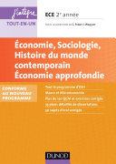 Pdf Economie, Sociologie, Histoire du monde contemporain. Economie approfondie. ECE 2 Telecharger