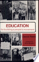 Education for Building a People s Movement Book PDF