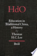 Education in Traditional China Book PDF