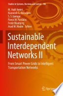 Sustainable Interdependent Networks II Book