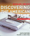 Discovering the American Past: Since 1865