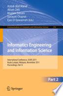 Informatics Engineering and Information Science  Part II