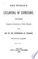 The World s Cyclopedia of Expression