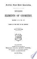 Euclid S Elements Of Geometry Books I Ii Iii Iv