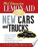 Lemon Aid New Cars and Trucks 2012