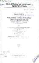 Local Government Antitrust Liability