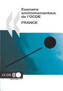 Pdf Examens environnementaux de l'OCDE : France 2005 Telecharger
