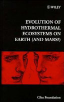 Evolution Of Hydrothermal Ecosystems On Earth And Mars  Book PDF