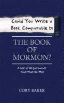 Could You Write a Book Comparable to the Book of Mormon