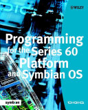 Programming for the Series 60 Platform and Symbian OS Book