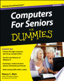 """Computers For Seniors For Dummies"" by Nancy C. Muir"