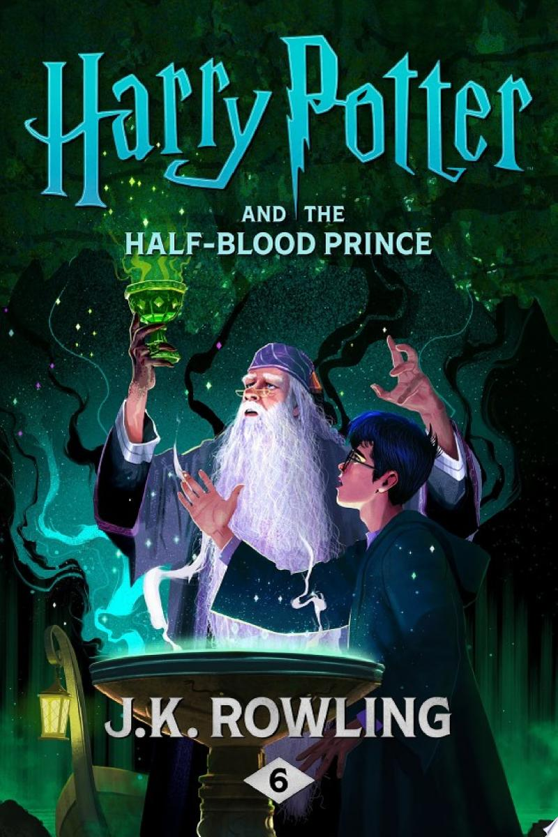 Harry Potter and the Half-Blood Prince banner backdrop