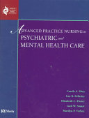 Advanced Practice Nursing in Psychiatric and Mental Health Care Book