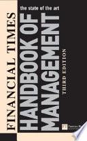 Financial Times Handbook of Management Book